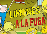 Hora de aventura Limones a la Fuga