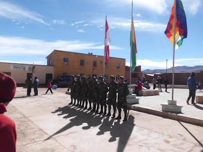 Mit der Militärparade endete die Woche der Unabhängigkeit Boliviens vor 192 Jahren