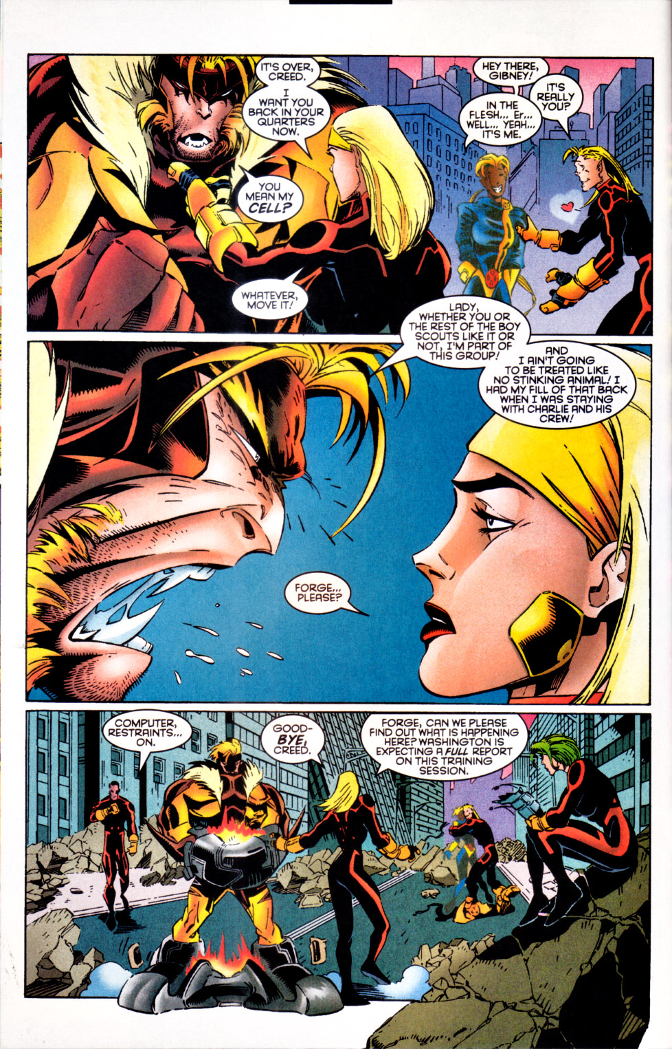 Read online X-Factor (1986) comic -  Issue #124 - 13