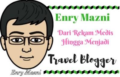 Enry Mazni Dari Rekam Medis Hingga Menjadi Travel Blogger