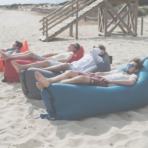 Lamzac hangout instant sofa terbaik for Sofa hinchable lamzac
