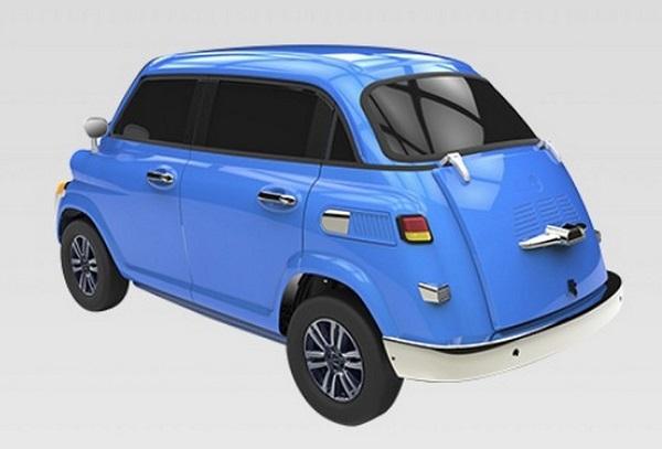 Isetta eléctrico chino