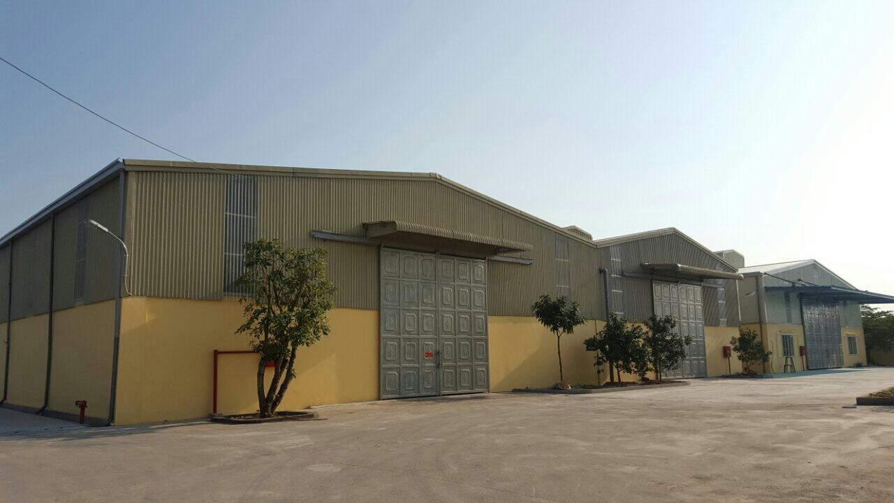 Cho thuê nhà xưởng mới xây diện tích 2.500m2  tại thành phố Hưng Yên