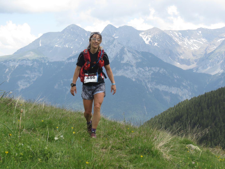 Corriendo por la sierra gran trail sobrarbe - Vanesa pascual ...