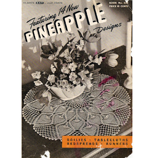 Vintage Pineapple Doilies Tablecloths Bedspread Patterns