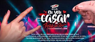 Promoção Eu Vou Casar No Rock in Rio Chilli Beans