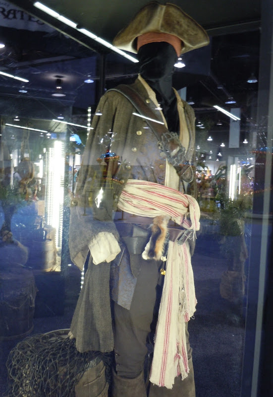 Captain Jack Pirates of the Caribbean costume