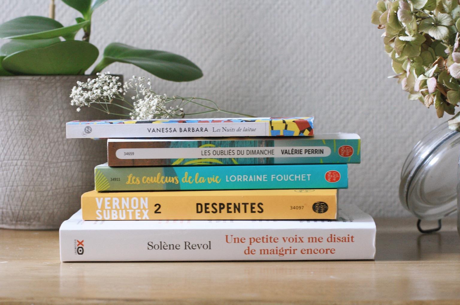 que lire en mai 2018 conseils de lecture, liste de livres a lire pile a lire