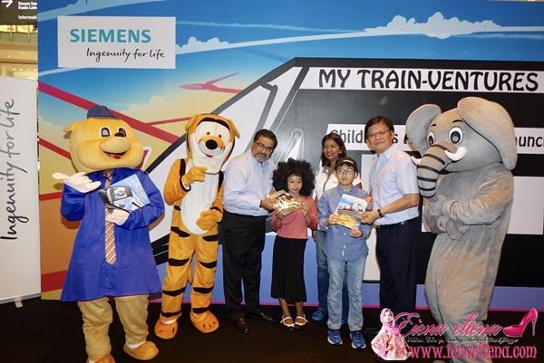 Majlis Pelancaran Buku Aktiviti My Train-Ventures Sempena Pembukaan Fasa 2 MRT Sungai Buloh – Kajang