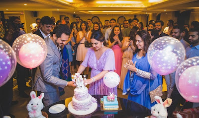 Esha-celebrates-her-baby-shower-with-family