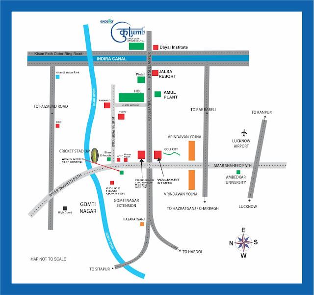 Excella Kutumb - Location Plan