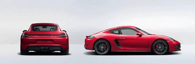 Porsche 718 GTS - Supercars under $100K