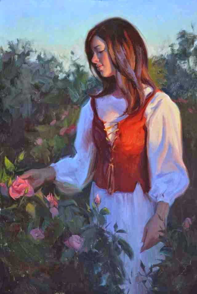 Американский художник. Albin Veselka