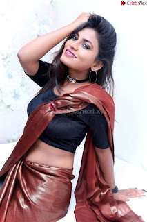 Priya Augustin in saree amazing cute beauty hq .xyz Exclusive Pics 004
