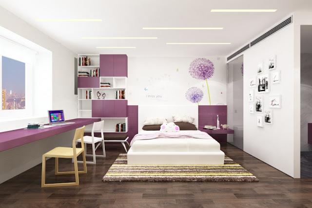 Thiết kế nội thất phòng ngủ Florence