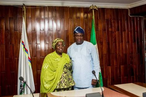 Ambode's Female Deputy Declares Her Support For Sanwo-Olu