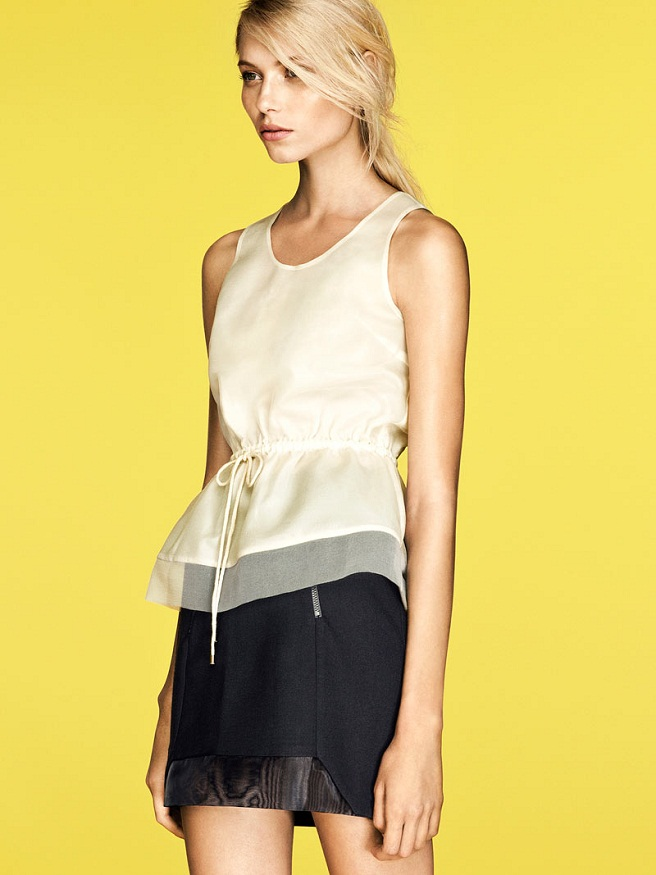 H&M Trend Update Lookbook Summer 2012 featuring Vika Falileeva