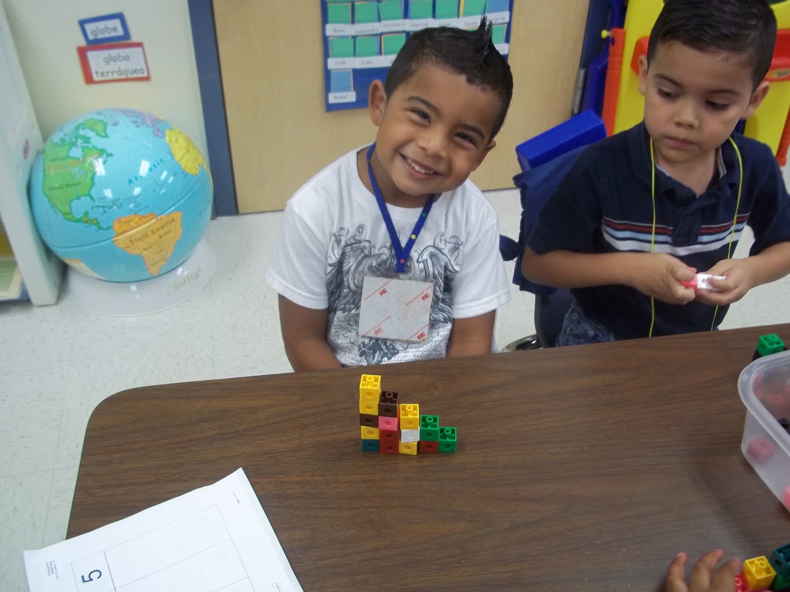 Kinder Garden: Mrs. Wood's Kindergarten Class: One To One Correspondence 1-5