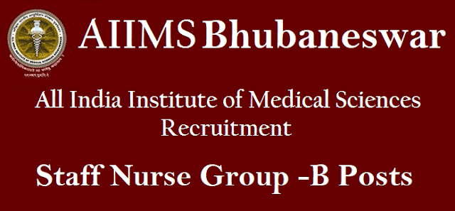 latest jobs, Notifications, Recruitment, Non Faculty Jobs, AIIMS Bhuvaneshwar, All India Institute of Medical Sciences, Staff Nurse Posts