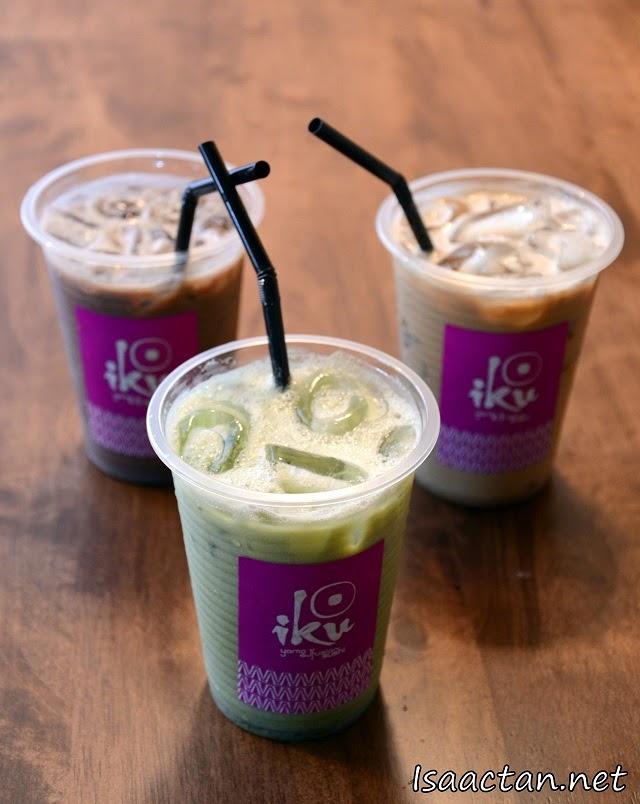 #9 Matcha Chocolate, Matcha Latte and Matcha White Coffee - RM6.80 each