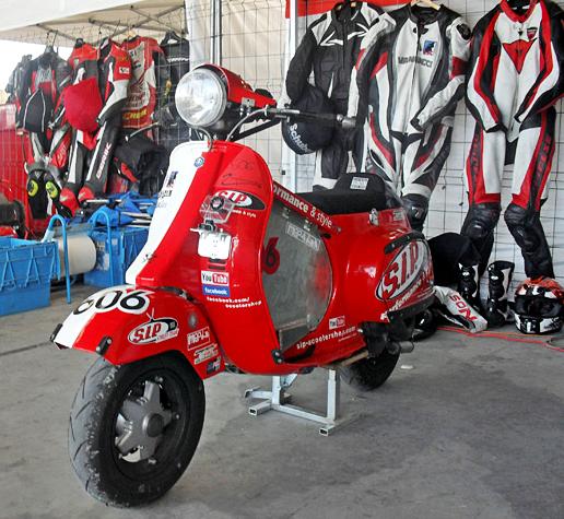 Kopling Set Racing Untuk Vespa Balap