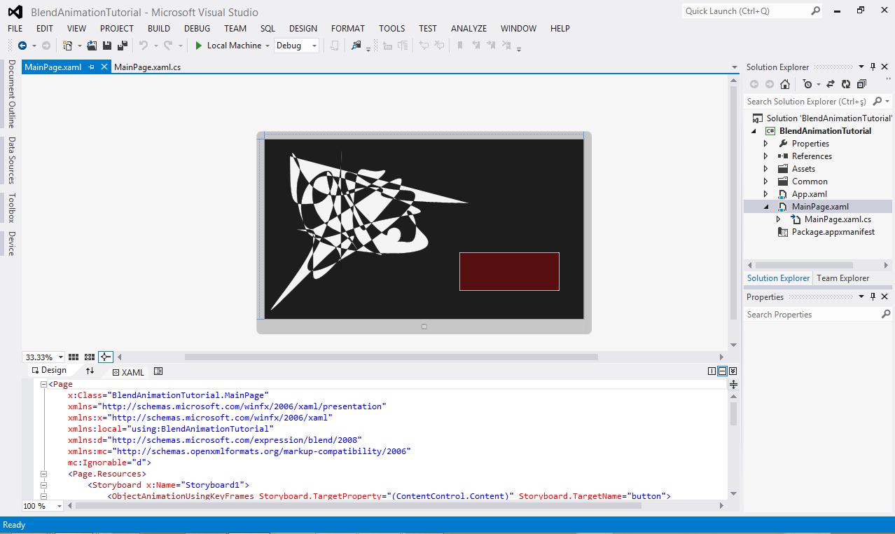 Anıl Tuncel's Blog: Blend for Visual Studio 2012 Tutorial - 3