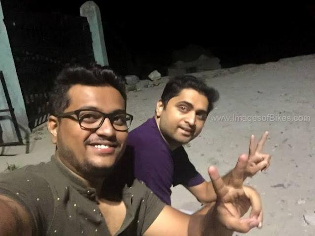 night selfie tapri