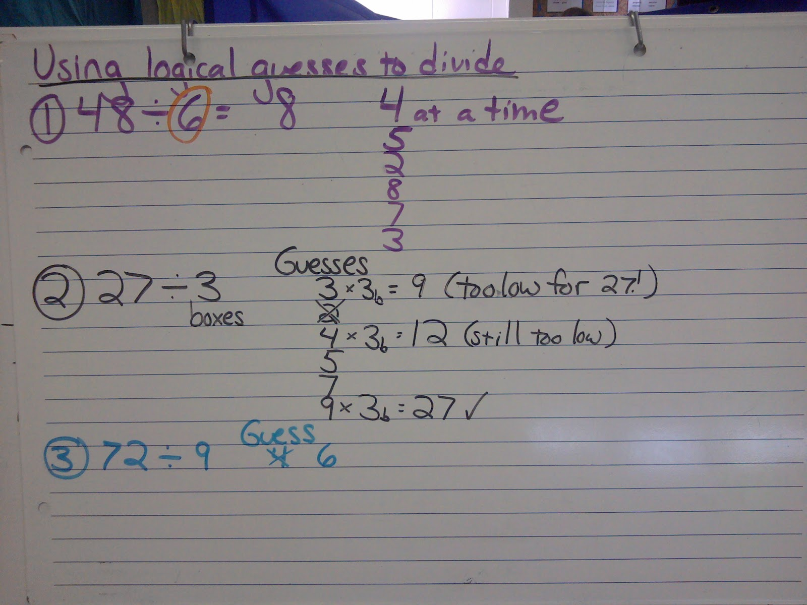Shut The Door And Teach Teaching Long Division With Base