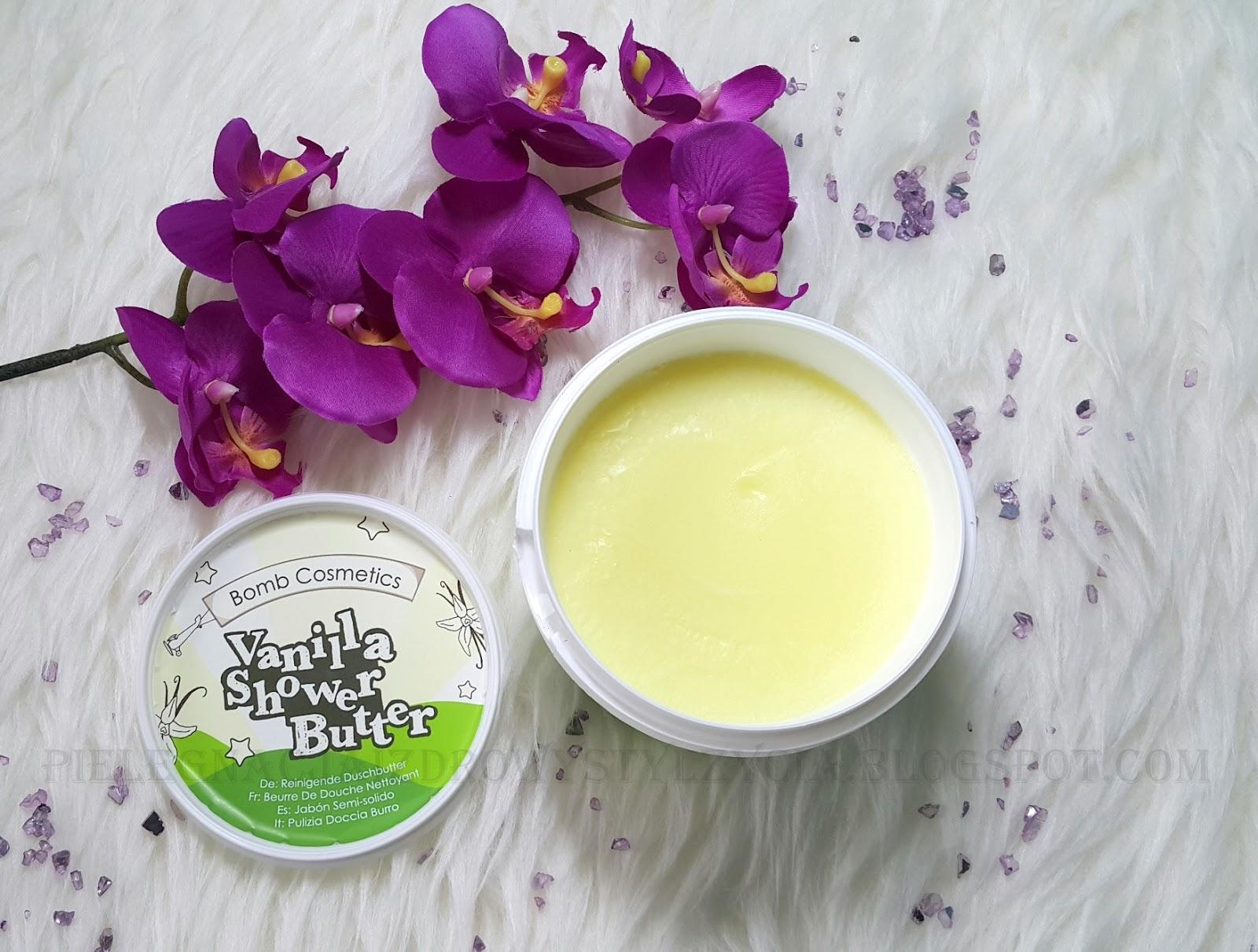 Bomb Cosmetics masło pod prysznic lody waniliowe - opinie
