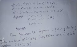 Pembahasan Soal Aljabar Linier ON MIPA PT Bidang Matematika Tahun 2017