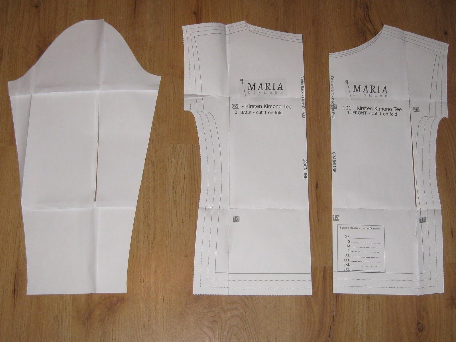 Tina Blogsberg: Long Kimono Tee Tutorial