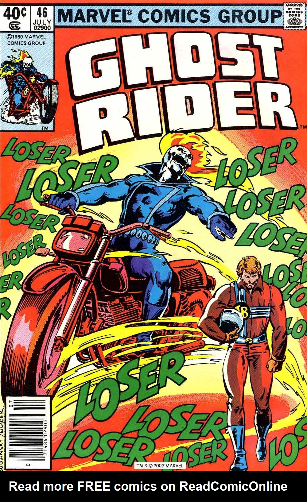 Ghost Rider (1973) Issue #46 #46 - English 1