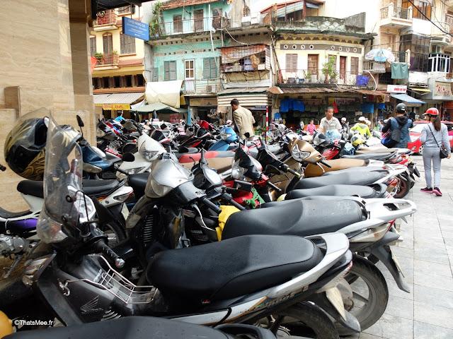 vue du vietnam scooters