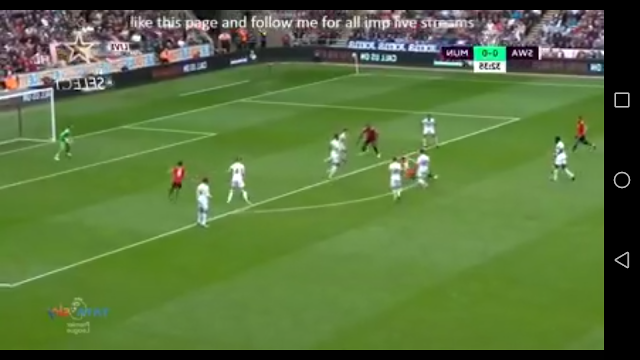 Live Streaming Facebook - Swansea vs Manchester United