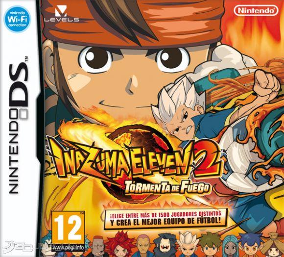 Gamermania Inazuma Eleven 2 Tormenta De Fuego Nds En Espa 209 Ol