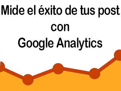 Mide tu éxito con Google Analytics
