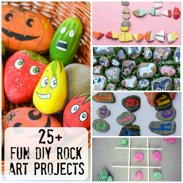 25 Diy Rock Craft Projects To Make You Clever Monkey