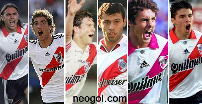 River Plate hace historia en la Liga Española sorin, higuain, solari, mascherano, aymar, saviola