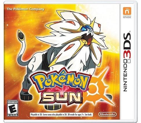 Pokemon Sun (Region free) [Decrypted] 3DS ROM