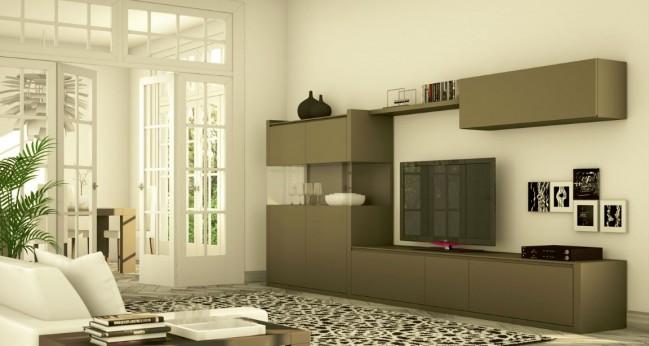 Muebles de dise o moderno y decoracion de interiores las for Composiciones de salon