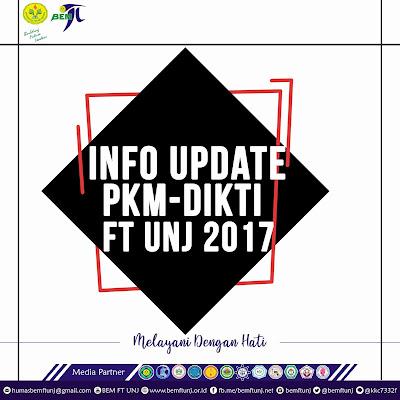 SELAMAT DAN SEMANGAT LOLOS Seleksi Reviewer PKM DIKTI FT UNJ 2017