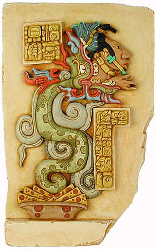 Gukumatz, the Serpent God of the K'iche' Maya
