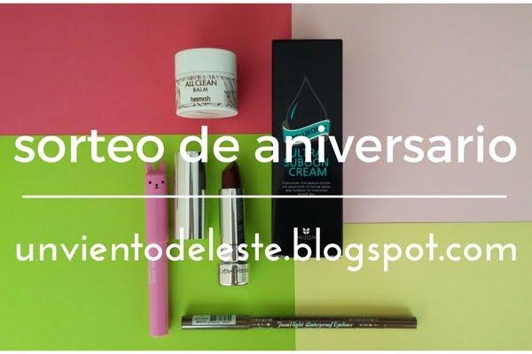 Sorteo Aniversario Unvientodeleste.blogspot.com