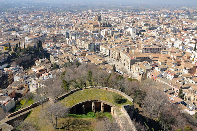 Widok z Alhambry