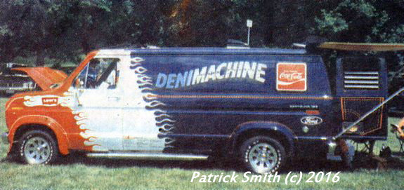 Nothing Captures The 1970s Better Than A Custom Van Denimachine Was One Of Icons Vanning Craze