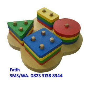 Mainan Anak Anak Basic Shape