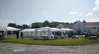 Early arrival at the Islay Ales open day