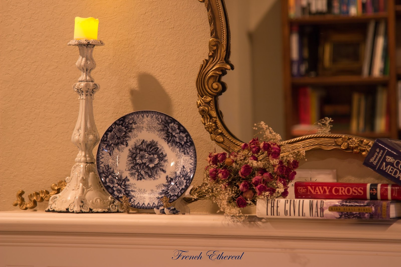 Quick French Patriotic An Post Mantel EtherealA American ~ 8nmwN0v