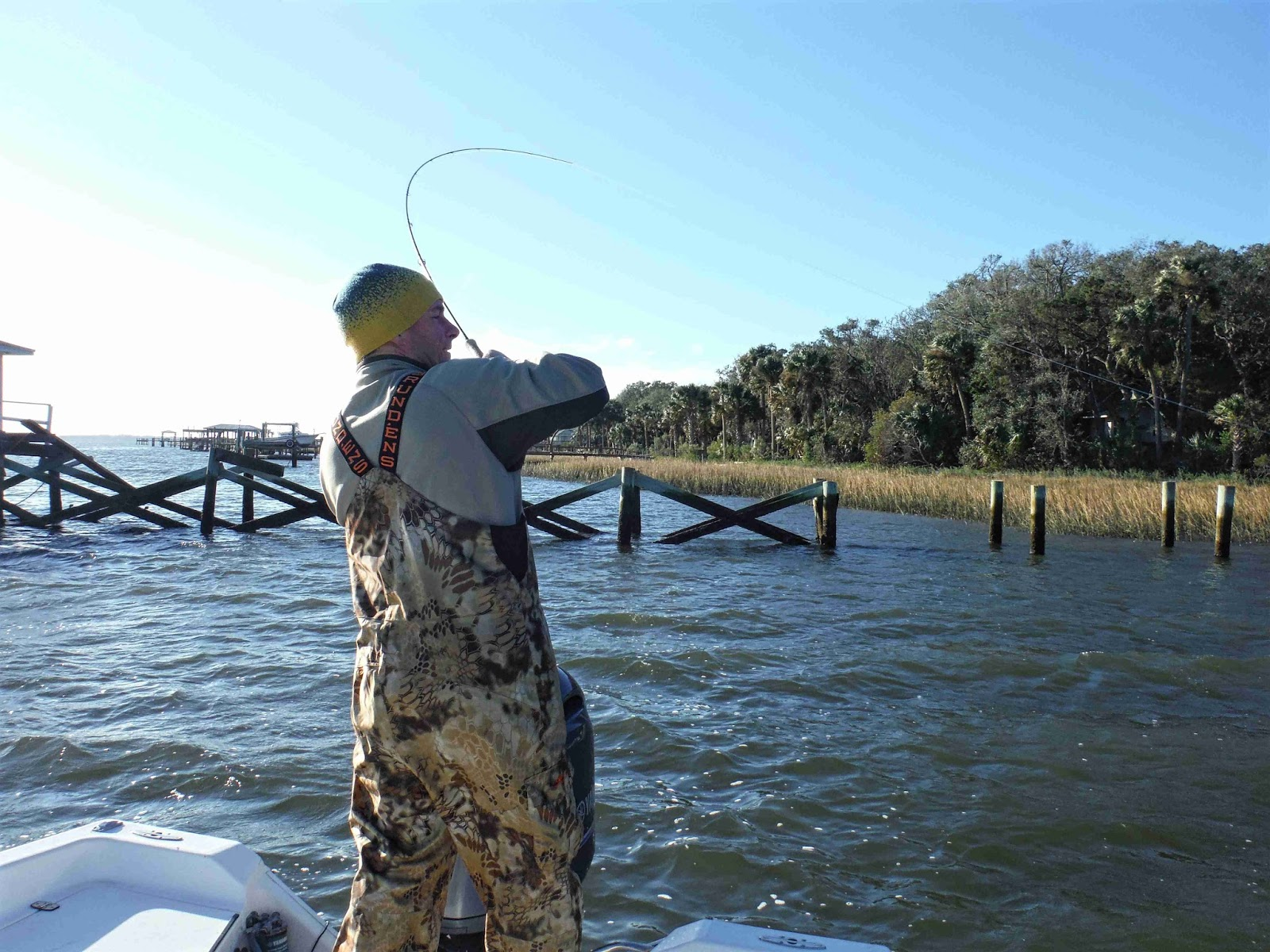 Amelia island fishing reports north wind and fly fishing for Seven b s fishing report