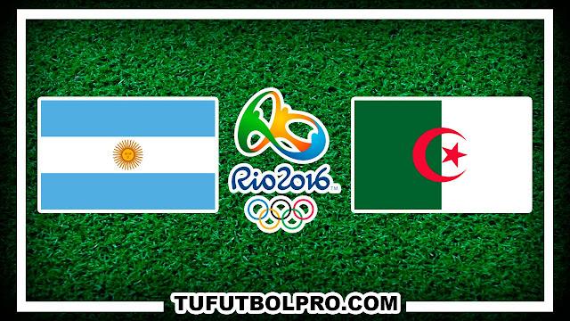 Ver Argentina vs Argelia EN VIVO Por Internet